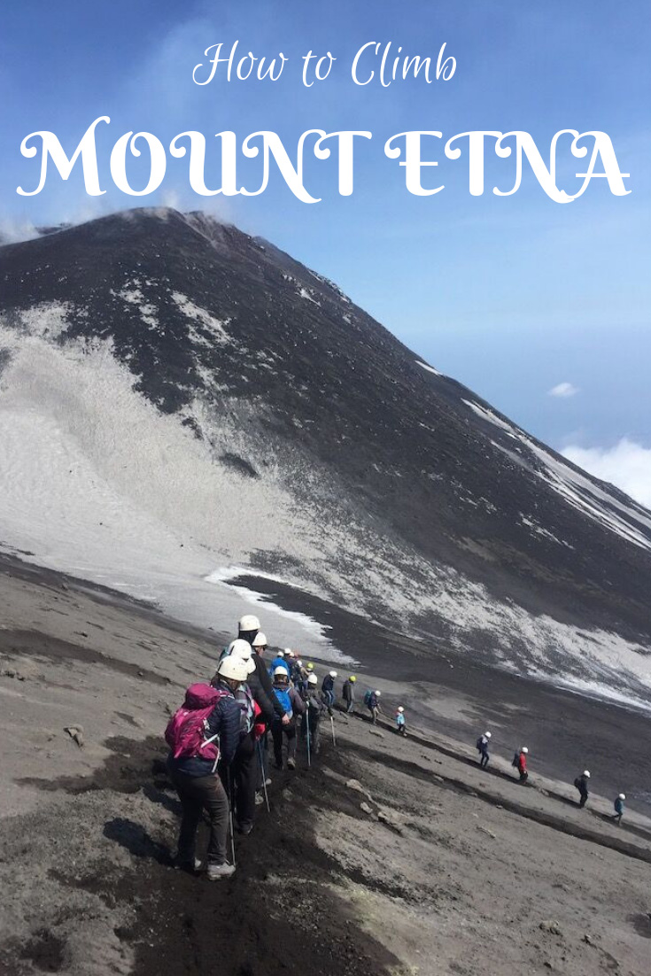 The best guide to climbing Mount Etna Sicily