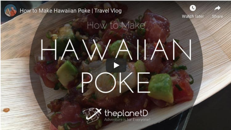 how to make poke video