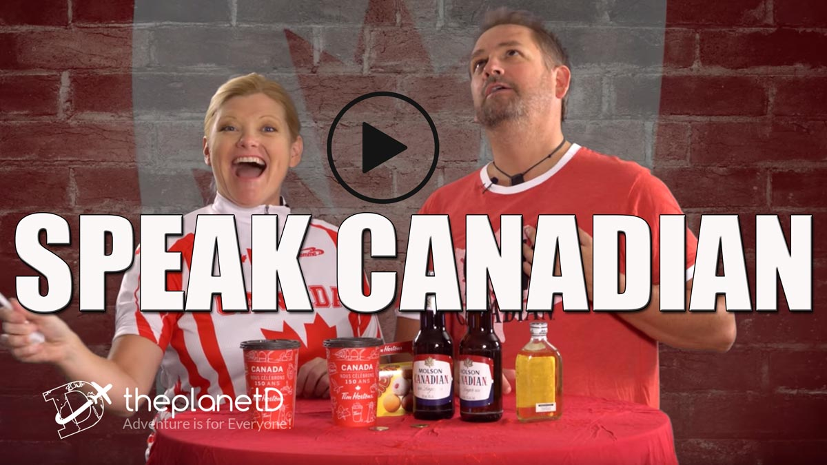 how to speak canadian video