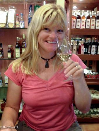 how to wine taste glass