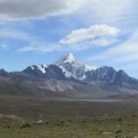 huayna potosi Mountain bolivia