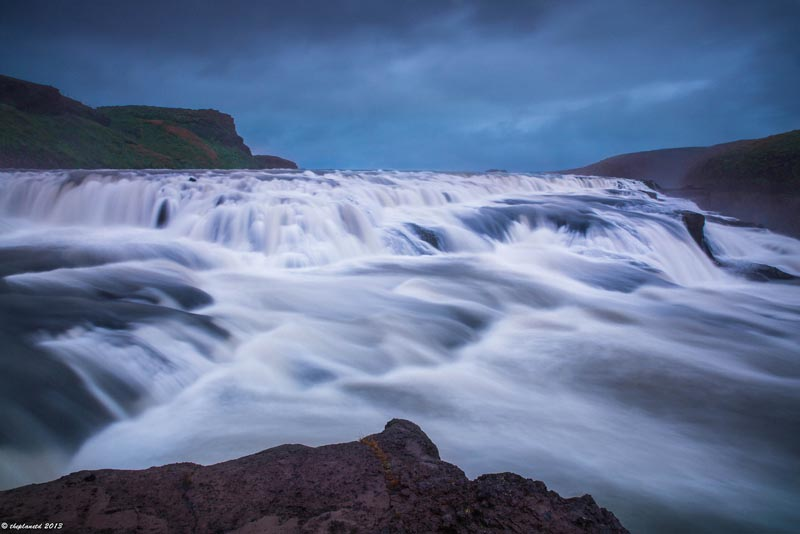 iceland pics long exposure gullfoss