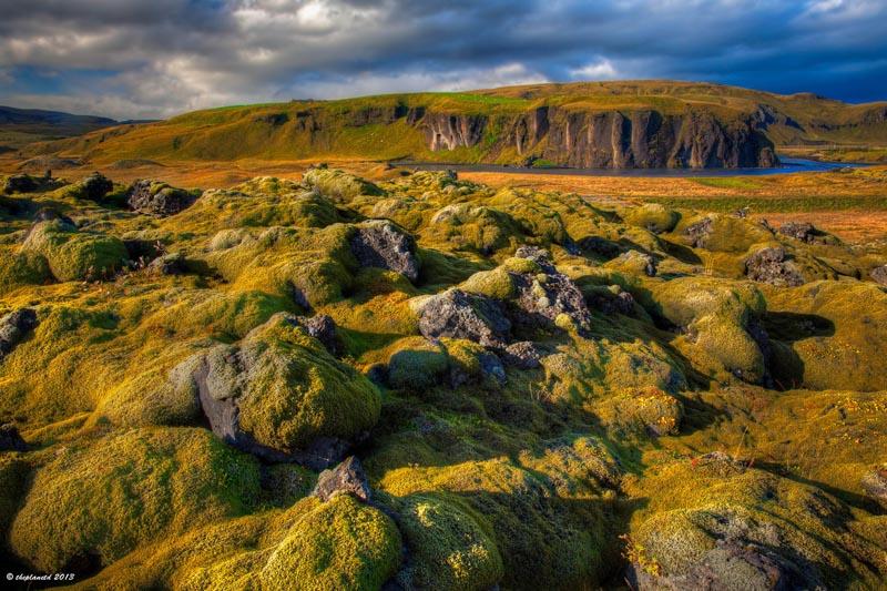 iceland photography lava rocks