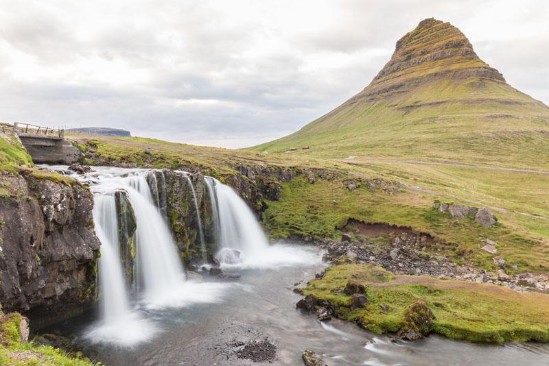 iceland waterfalls Kirkjufellsfoss