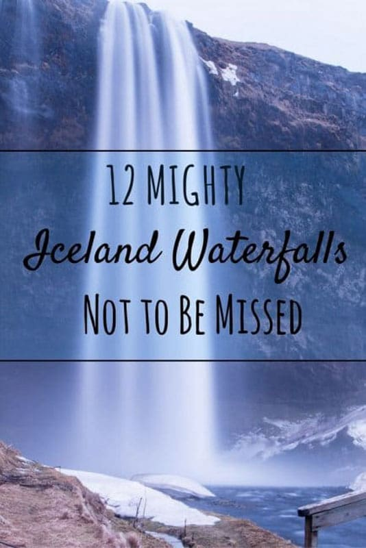 beatufiul waterfalls of iceland
