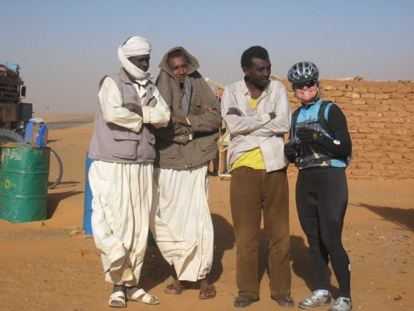 It's Smooth Sailing: Cycling in the Sudan