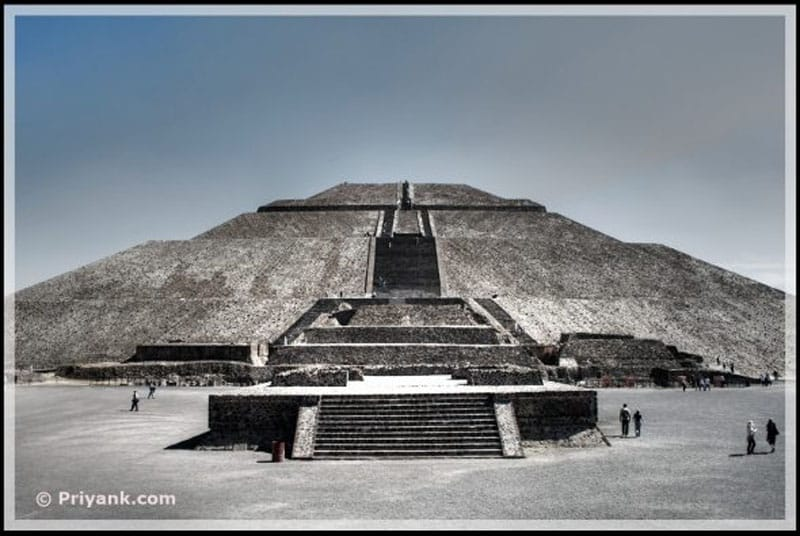 india mexico similar pyramid