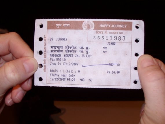 india train travel tickets
