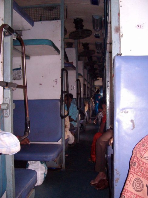 india railway system sleeper car