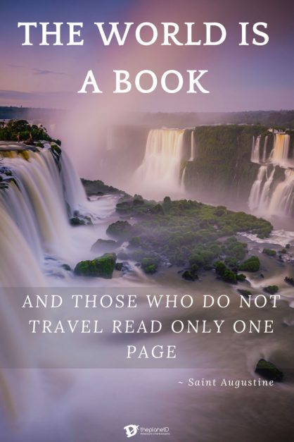 Travel Quotes 1 | The World is a book by Saint Augustine