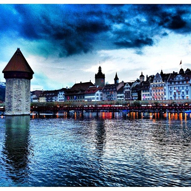 Waterfront of Lucerne