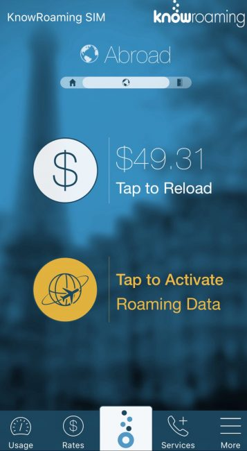 international data roaming know roaming