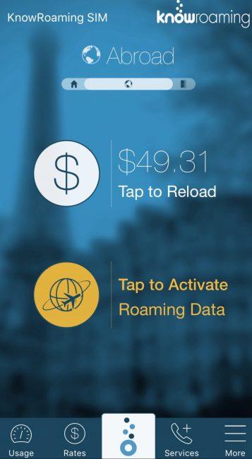 international data roaming know roaming