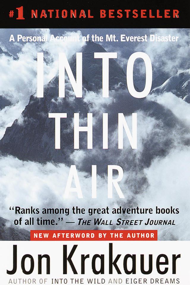 into thin air by john krakauer