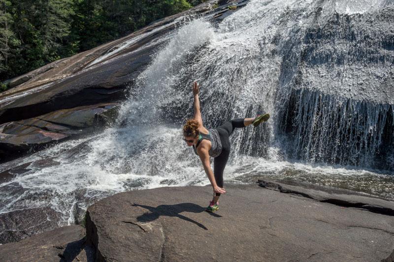 yoga waterfall