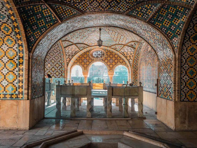 iran travel guide | inra golestan palace tehran