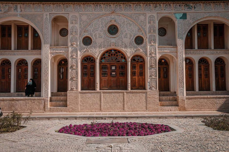 travelling in iran | tabatabai house kashan
