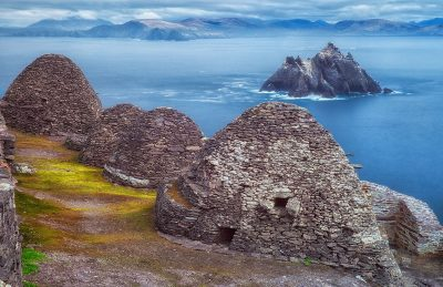 beehive huts of Skellig Michael ireland