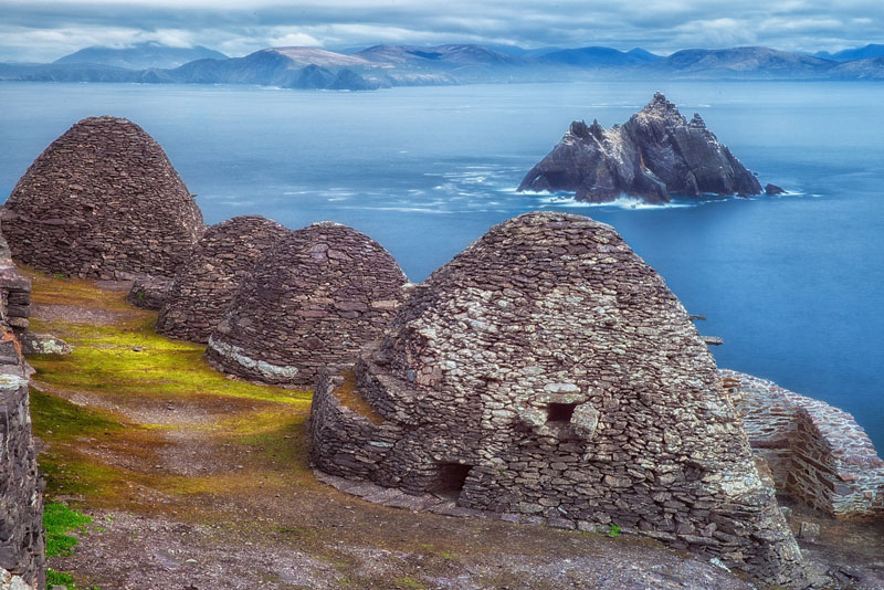 bee hives of Skellig Michael images of ireland