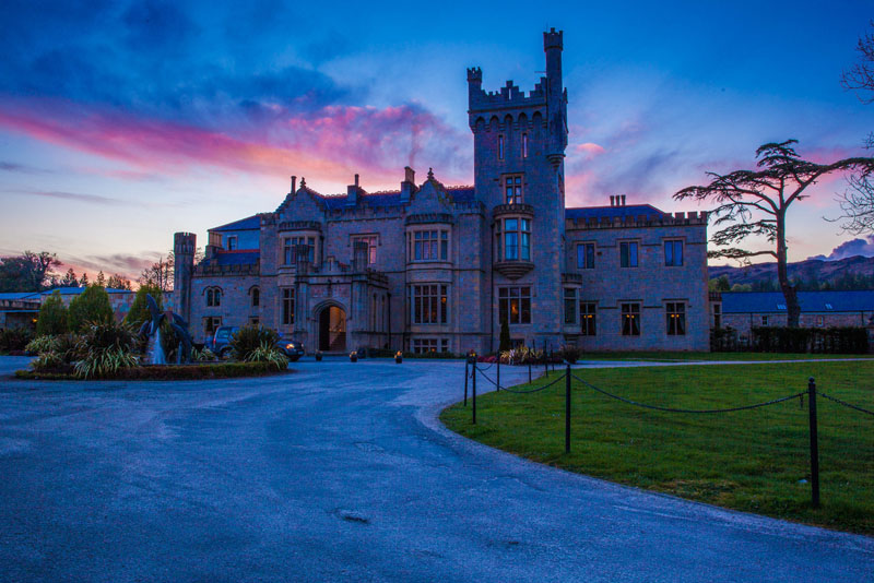 ireland photos Lough Eske castle