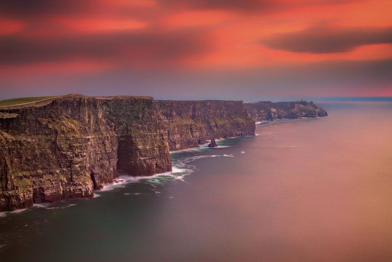 ireland photos cliffs