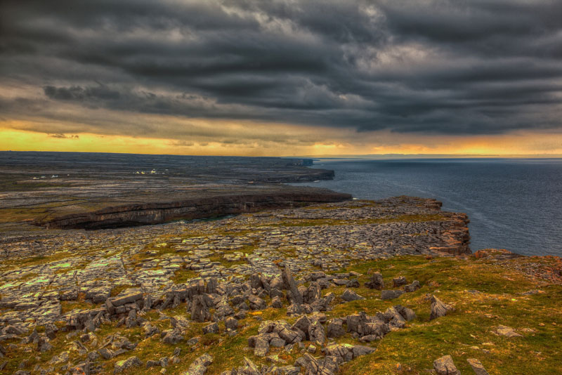 dun aengus picture of ireland