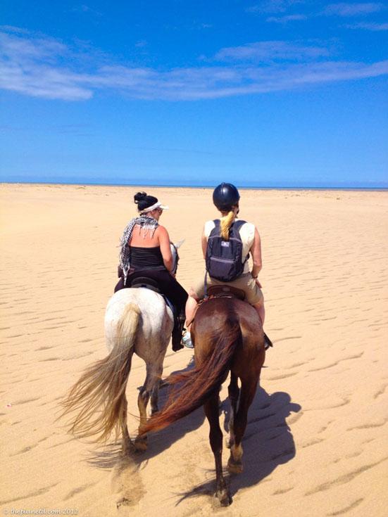 isimangaliso horse beach