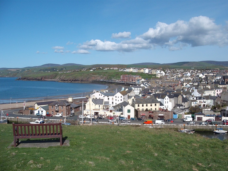 isle of man village view