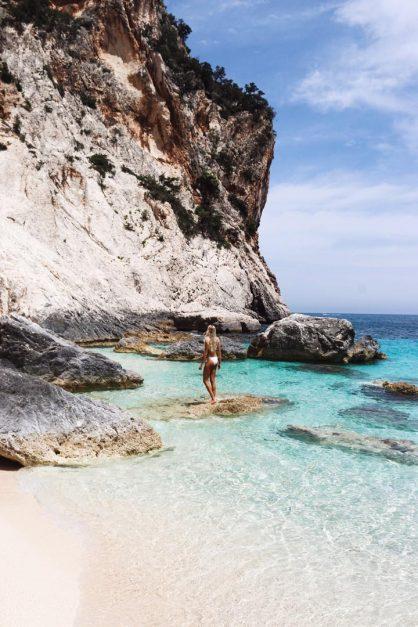 Italy Beaches Cala Gonone