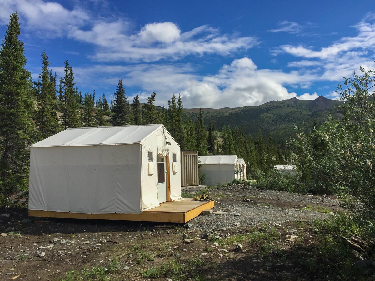 ivavik canada parks tents