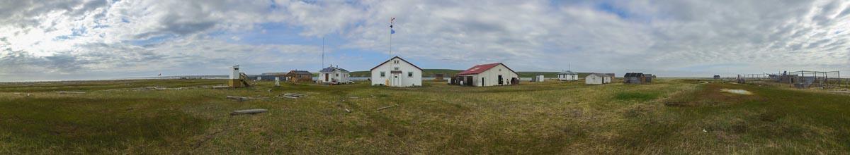 hershel island panoramic view
