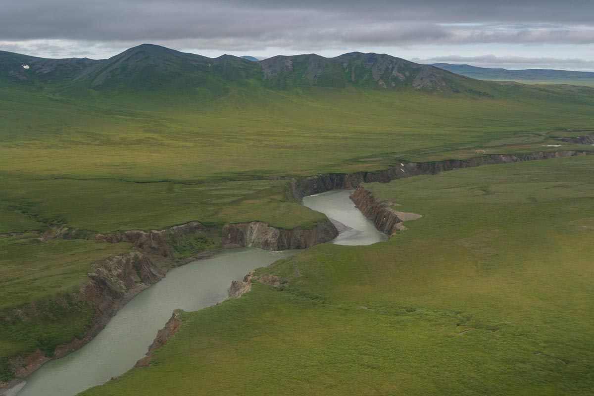 Ariel views of ivavik np