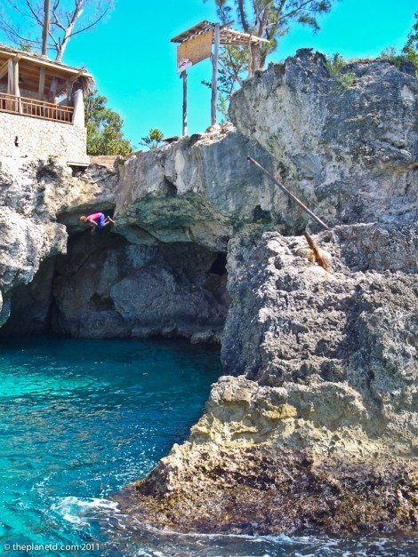 Cliff Diver Rick's Cafe Jamaica