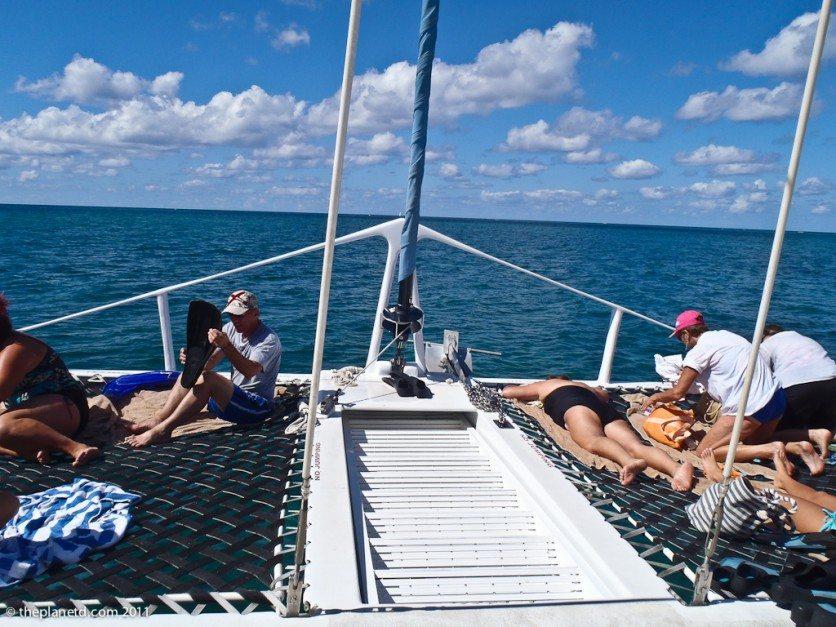 things to do in Jamaica Catamaran Tour