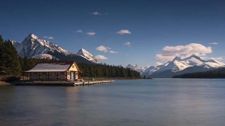 places to visit in jasper | maligne lake