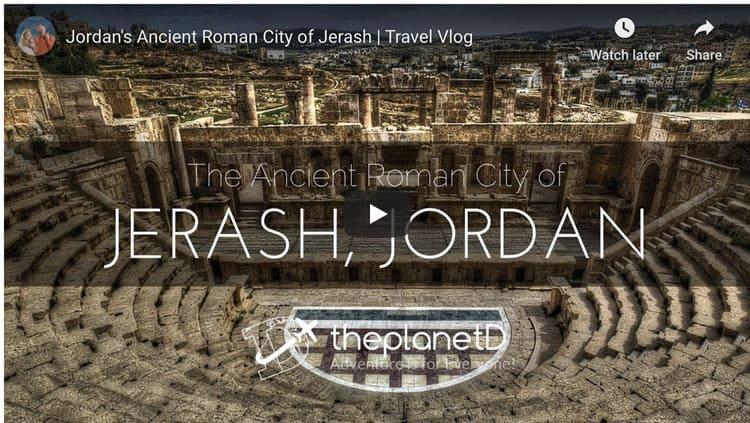 jerash jordan video