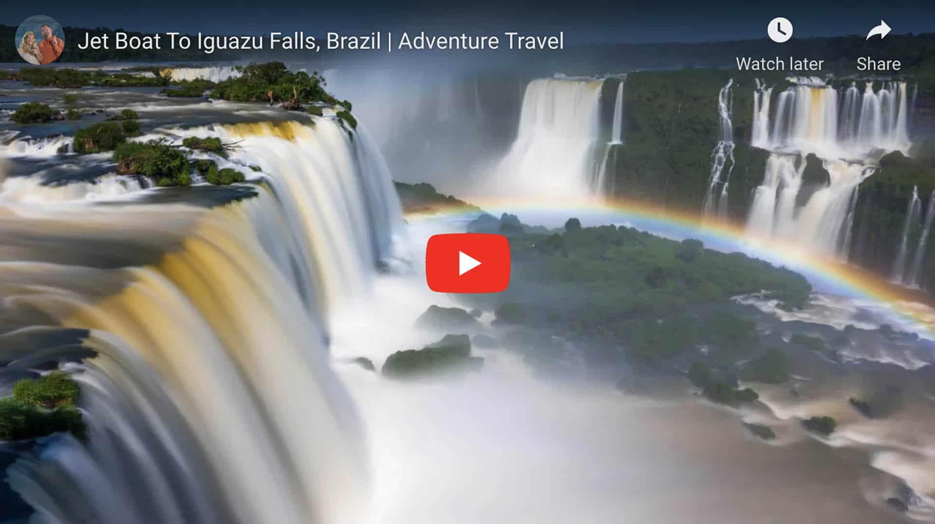 jet boat tour iguazu falls
