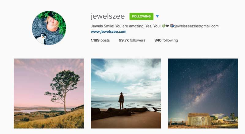 instagram travel jewelzee