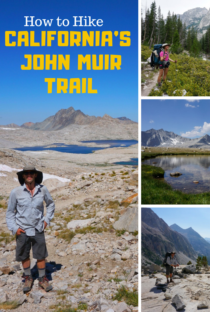how to hike the John Muir Trail in California
