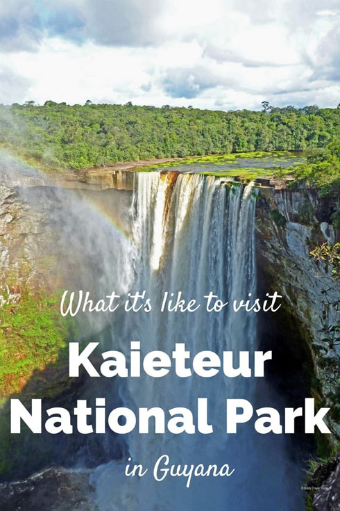 kaieteur national park pin