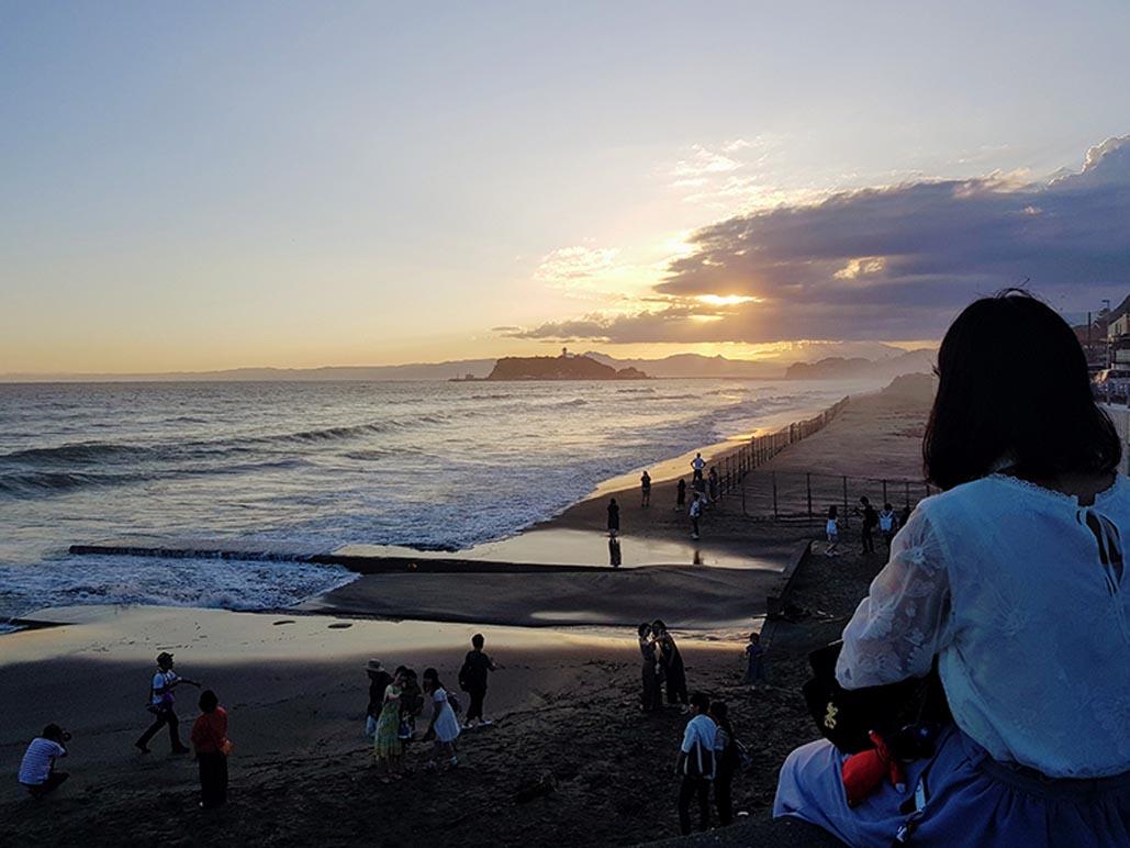 things to do in kamakura | sunset