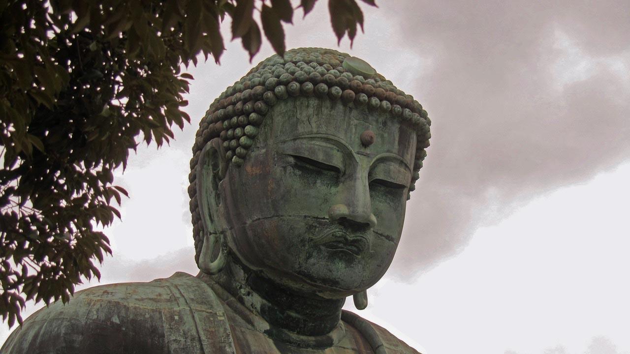 kamakura buddha head