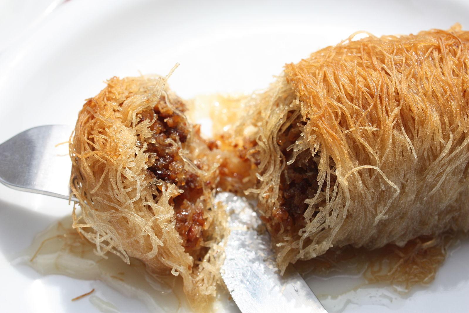 greek desserts kataifi