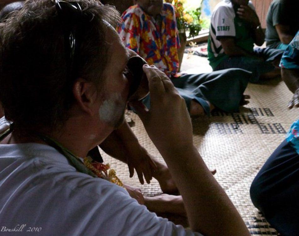Kava Ceremony in Fiji Etiquette