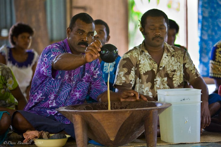 kava ceremony man