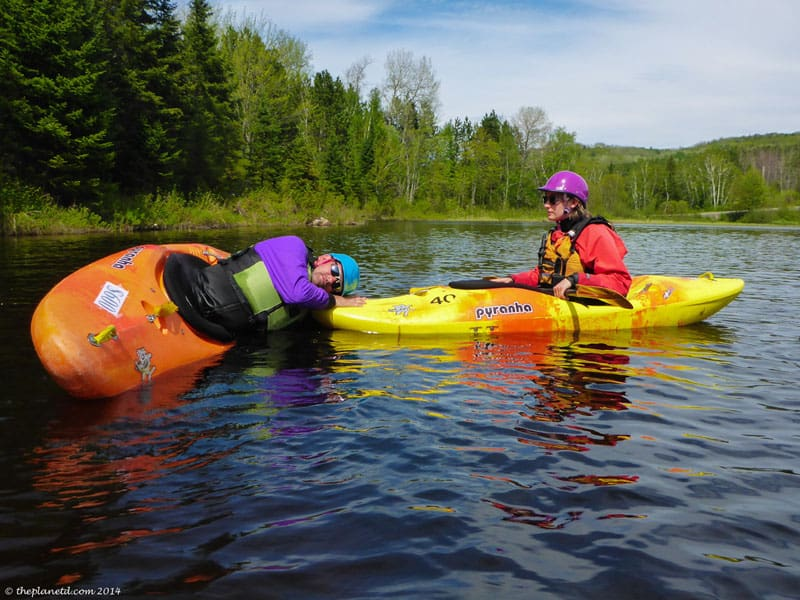 What to Expect the First Day of a Whitewater Kayaking Course