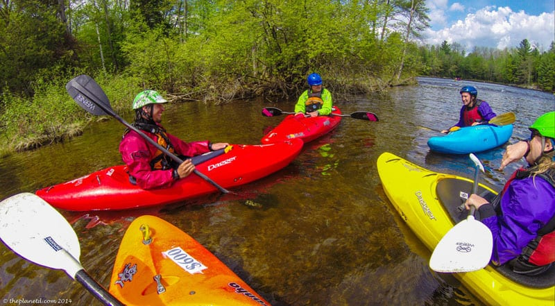instructor whitewater kayak course