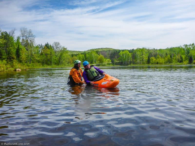 kayaking course teaching