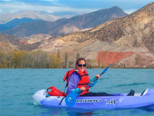 kayaking in potrerillos argentina