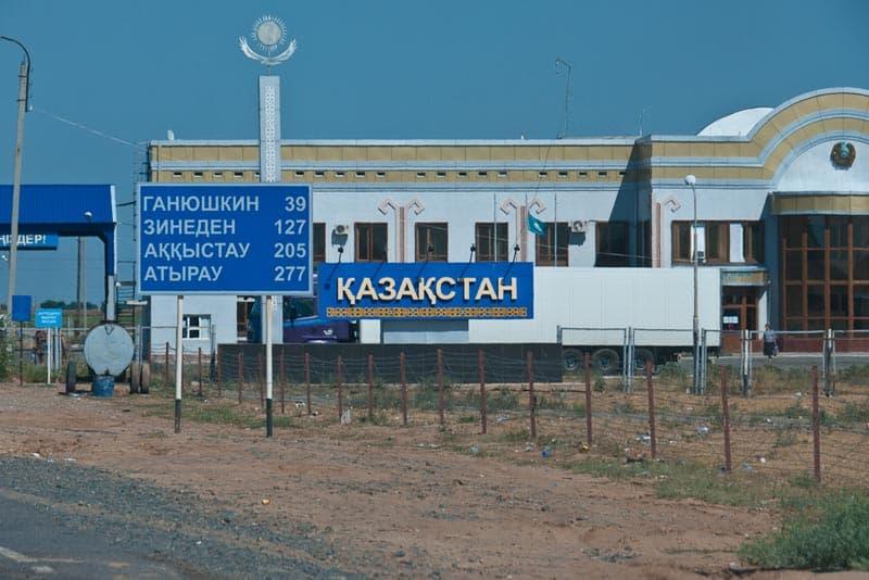 kazakhstan border